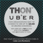 Uber Pairs with THON!