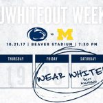 Penn State – Michigan Football Viewing Party