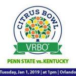 Citrus Bowl – Penn State vs Kentucky Football Viewing Party